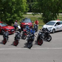 Permis Moto A1 A2 et A et formation 125