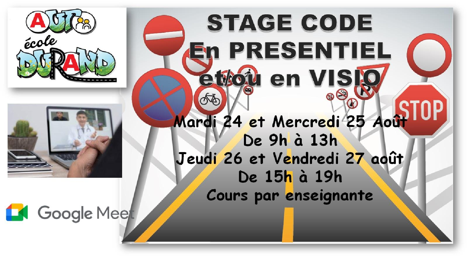 Stage code aout 2021