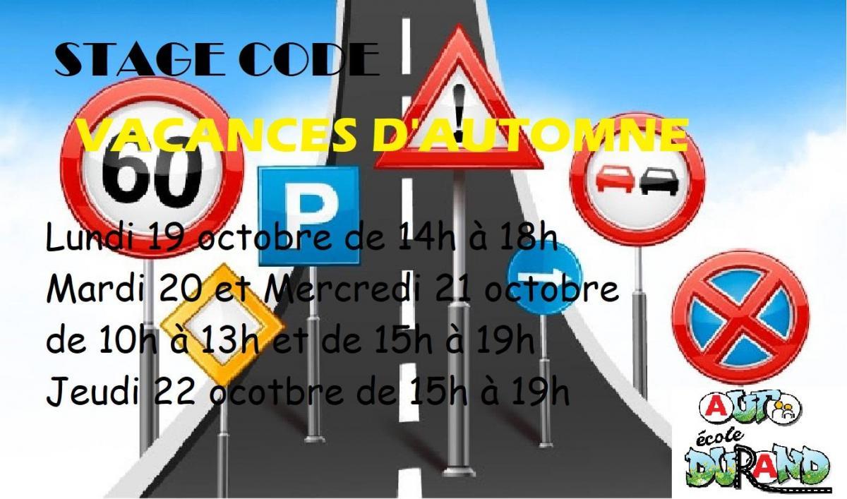 Stage code automne 2020