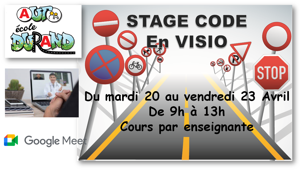Stage code avril 2021